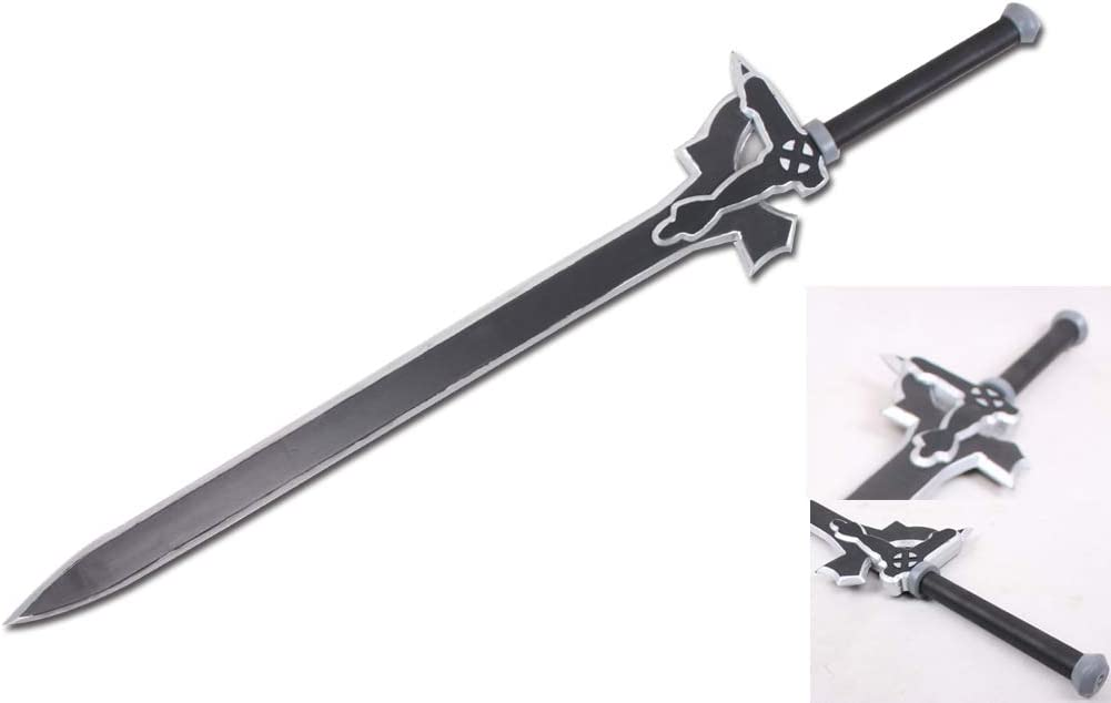 Sword a Art Online SAO Anime Cosplay Kiritos Elucidator Foam Costume Sword New