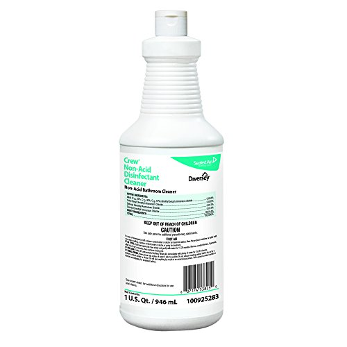 Diversey Crew Neutral Non-Acid Bowl and Bathroom Disinfectan