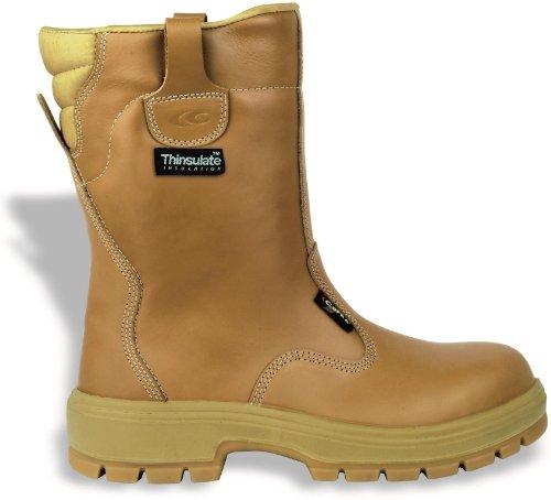 """Cofra 82450-004.W42 taglia 42 S3 e HRO CI SRC """"New Montana"""", scarpe di sicurezza, colore: marrone"""