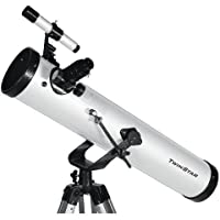 "White TwinStar FirstStar 3"" Reflector Telescope"