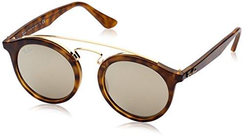 46 60925A RB4256 Gatsby oro la ligero Havana Habana Gafas Ray de Matte Ban de mate marrón espejo en sol wpxqa6Z