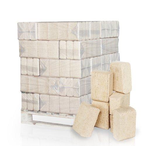 PALIGO Holzbriketts Ruf Nadelholz Kamin Ofen Brenn Holz Heiz Brikett 10kg x 30 Gebinde 300kg / 1 Palette Heizfuxx
