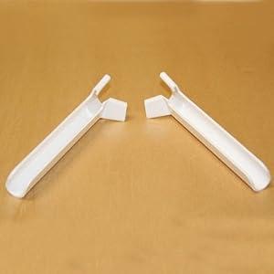 Set of 2 RV Drip-Guard Gutter Spout Extenders - Gutter