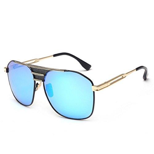 Sol Sol del Gafas Metal Moda Grande Bastidor De Gafas De Moda Sol De Gafas JUNHONGZHANG D De Un Señoras Sol De Gafas vFwt44