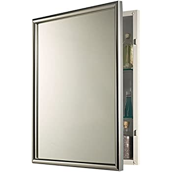 Etonnant Jensen 533124X Chrome Frame Medicine Cabinet, ...