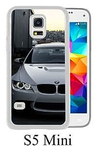 Samsung Galaxy S5 Mini case,Unique Design White BMW M3 E92 Front White cell phone case for Samsung Galaxy S5 Mini