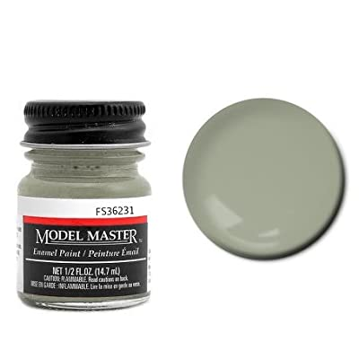 Dark Gull Gray Enamel Paint .5 oz bottle FS36231 by Testor Corp.: Toys & Games