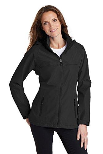 Port Authority Ladies Torrent Waterproof Jacket. L333, Black, XL