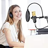 RAGU Condenser Microphone Bundle, 8-in-1 Cardioid