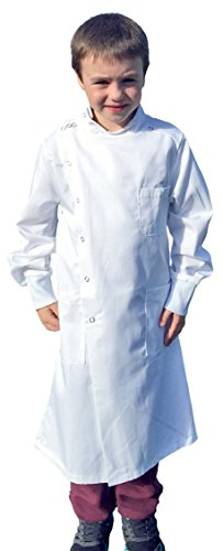 [Dr. Howie Junior Mad Scientist Costume US-08-10/13] (Mad Scientist Costumes For Kids)
