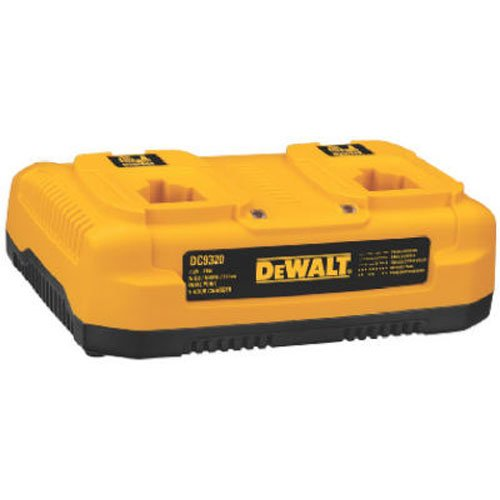 DEWALT Charger for 7.2V-18V Batteries, Dual Port (DC9320)