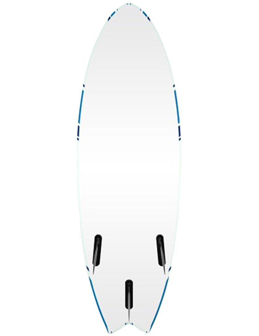 Alder Delta Hybrid Fish con forma de tabla de surf 182,88 cm - blanco/azul: Amazon.es: Deportes y aire libre