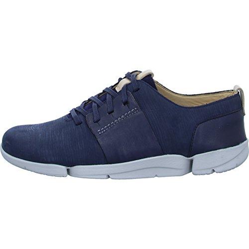 Clarks Dame Tri Caitlin Sneaker Blau TTiwG9