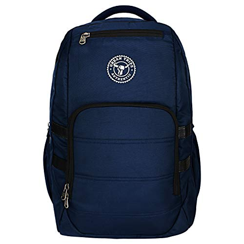 Urban Tribe Accelerator 15.6 Inch| Water Repelent |30 Litres | Laptop backpack for men and women  Blue