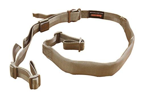 AlienTACS CQC Transformer Rifle sling Wide Padded 2 point sling Quick Adjust Buckle 1 1/4