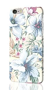 "Traditional Victorian Light Blue Cream Flower Floral Rose 3D Rough iphone 6 -4.7 inches Case Skin, fashion design image custom iPhone 6 - 4.7 inches , durable iphone 6 hard 3D case cover for iphone 6 (4.7""), Case New Design By Codystore"