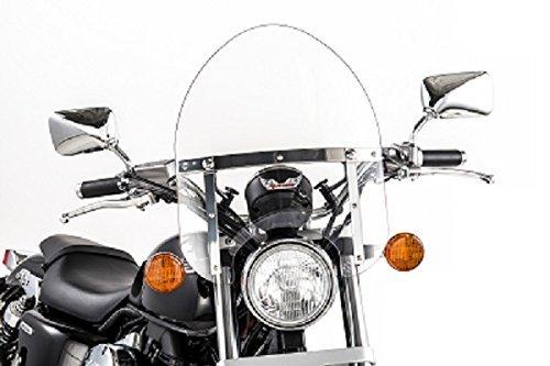 Slipstreamer Windscreen (Slipstreamer HD-0-C Motorcycle Windshield, Clear by Slipstreamer)
