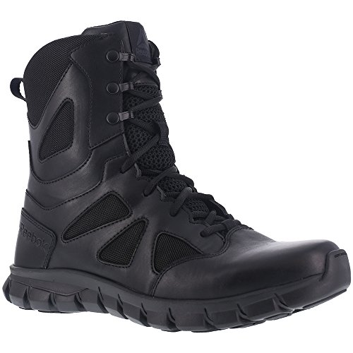 Reebok Mens Sublite Cushion RB8806 Military and Tactical Boot Black