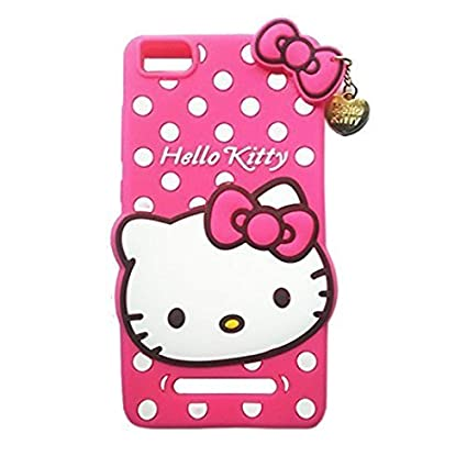huge discount 186c4 b61c9 Fonixa 3D hello kitty back cover for Redmi 4A (Pink)