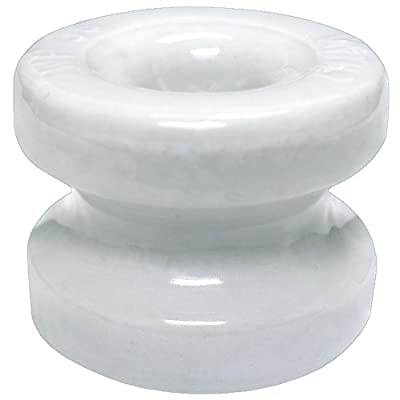 Zareba WP36 Corner Post Ceramic Insulator, Large, 10 count