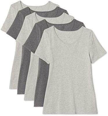 Maglev Essentials Damska Bdx009m5 t-Shirt (5er Pack): Odzież