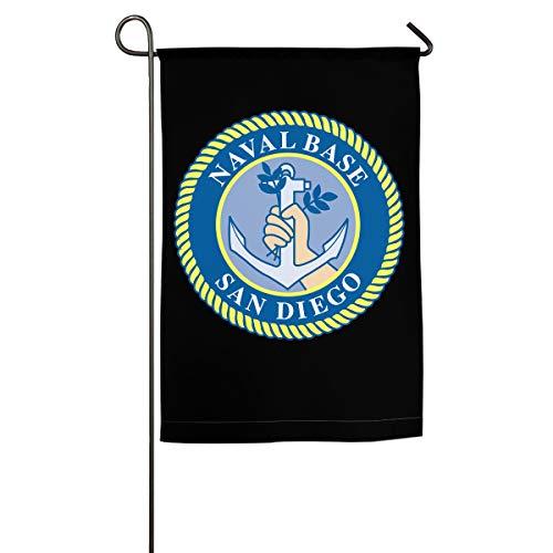 Naval Base San Diego 100% Polyester House Flag Decorative Garden Flag Yard Banner Garden -