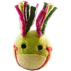 Eco-Animal Head Ball (Frog)