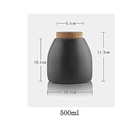A 800ml FLAMEER 3pcs K/üche Vorratsdose Keksdose Kanister Beh/älter f/ür K/üche