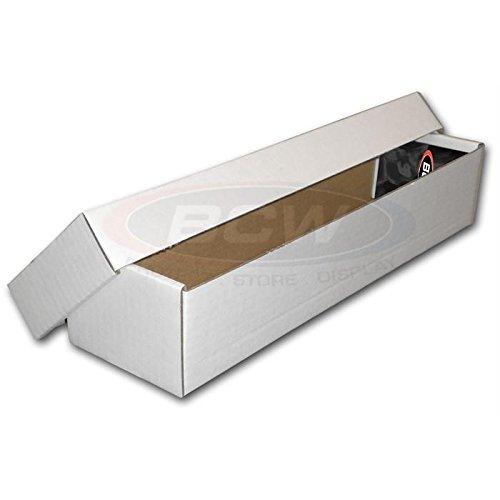 BCW 800 Count 2 Piece Box - Corrugated Cardboard Storage Box - Baseball, Football, Basketball, Hockey, Nascar, Sportscards, Gaming & Trading Cards Collecting Supplies ()