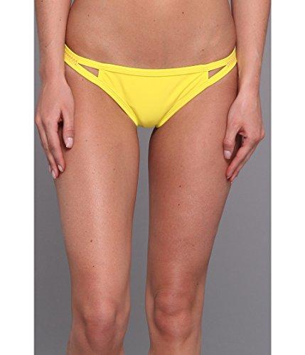 Roxy Outdoor Fitness Flip Side Bikini Bottom - Women's Blazing Yellow, L ()