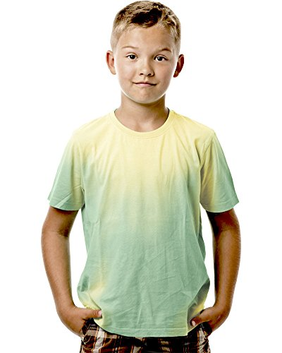 Shadow Shifter Kids Heat Reactive Color Changing T-Shirt SMARTWEAR (YM, Bright Green) ()