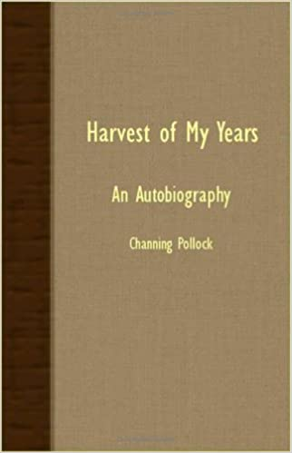 Harvest of My Years - An Autobiography