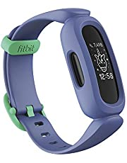 Fitbit Ace 3 Activity Tracker for Kids 6+, Blue Astro Green, One Size