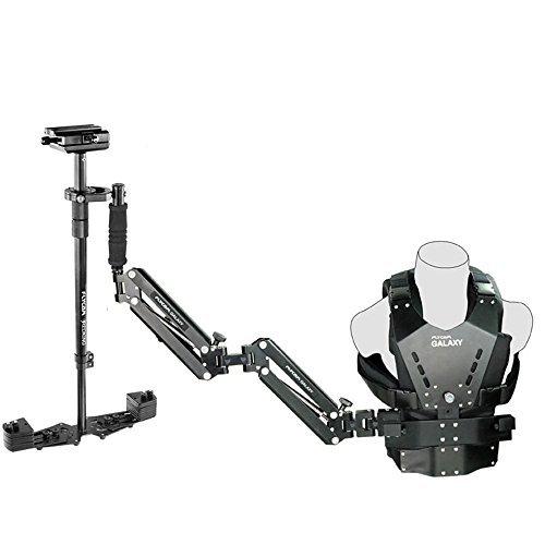 Flycam Galaxy Dual Arm & Vest with Redking Video Camera Stabilizer (FLCM-GLXY-RK) Professional Stabilization System by FLYCAM