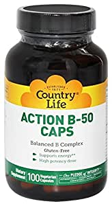 Country Life Action B-50, 100-Count