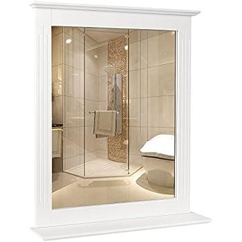 Amazon.com: Elegant Home Fashions Stratford Collection Framed Mirror ...
