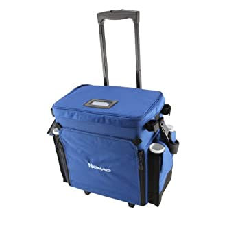 Image of Okuma Nomad Travel Series Tackle Rolling Deck Bag Fly Boxes & Storage
