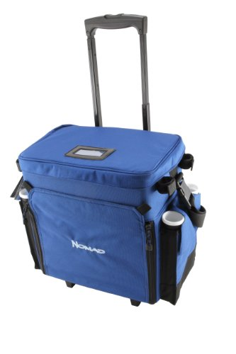 Okuma Nomad Travel Series Tackle Rolling Deck Bag (Charter Boat Rod)
