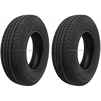Amazon Com Ecustomrim 2 Pack Radial Trailer Tires 395 St225 75r15