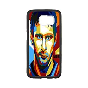 Samsung Galaxy S6 Cases Lionel Messi Abstract For Boys, Samsung Galaxy S6 Cases For Women Yearinspace, [White]