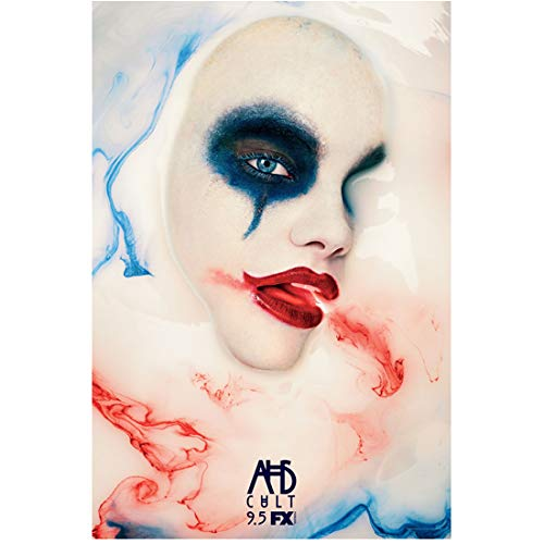 American Horror Story Cult woman looking through one eye high contrast promo 8 x 10 Inch Photo