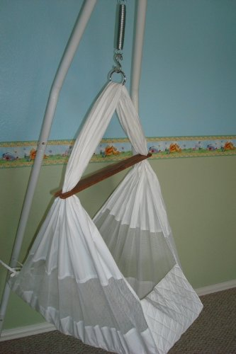 mamalittlehelper u0027s baby hammock pure white   basic package amazon    mamalittlehelper u0027s baby hammock pure white   basic      rh   amazon