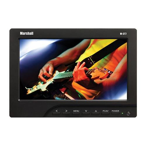 Marshall Electronics M-CT7-C511 Camera Top Monitors (Black) by Marshall