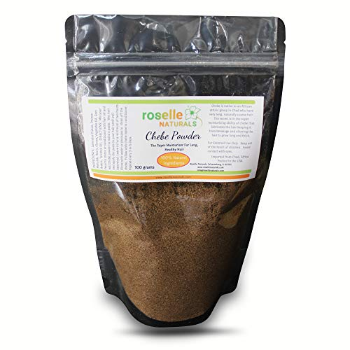 Chebe Powder Authentic From Ms Sahel Chad. Hair Growth Formula, Super Moisturizing All Natural Hair Mask (100 grams)