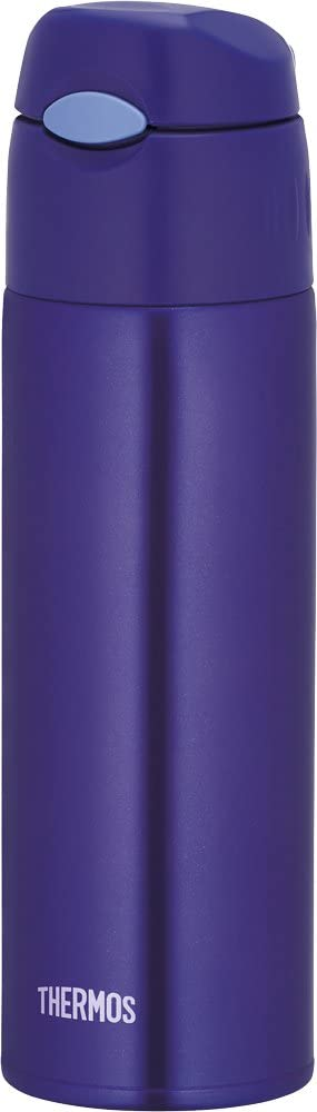 Thermos vacuum insulation straw bottle 0.55L Blue FHL-550 BL