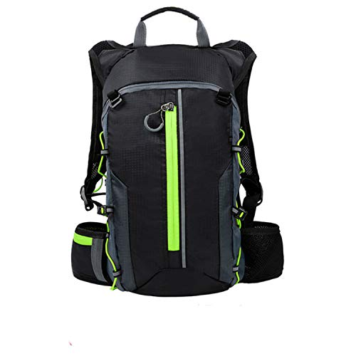 Waterproof Bicycle Bag Cycling Backpack Breathable 10L Ultralight Bike Water Bag Climbing Cycling Hydration Backpack,Green Bag Only
