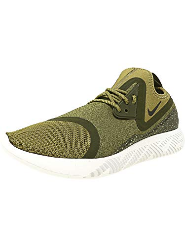 Nike Men's Lunarcharge Essential Camper Green/Sequoia Ankle-High Fabric Running Shoe - 10M ()