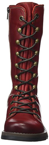 red Mujer Fly London Ster768fly Botas Para Rojo ZY0qzY 3d645583de48