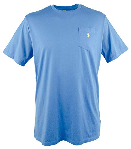 (Polo Ralph Lauren Men's Big and Tall Classic Fit Pocket T-Shirt-B-XLT Blue)
