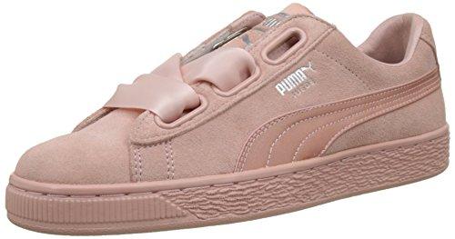 Puma Damen Cuore Camoscio Ep Sneaker Beige (beige Pesca-metallizzato)